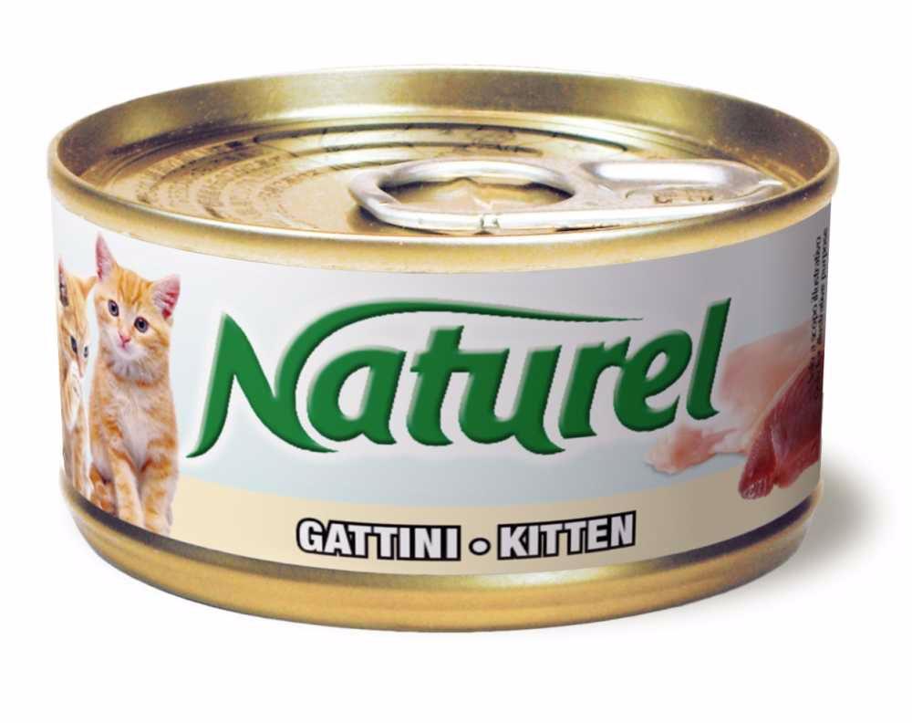 Naturel cat-can KITTEN 70g-010040