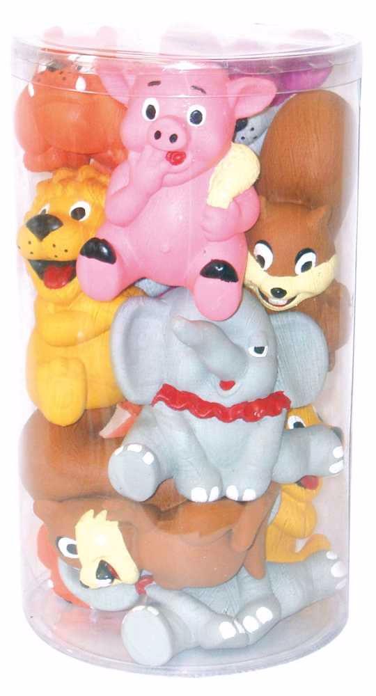 Hračka pes - mix velkých latexových hraček (24 ks)