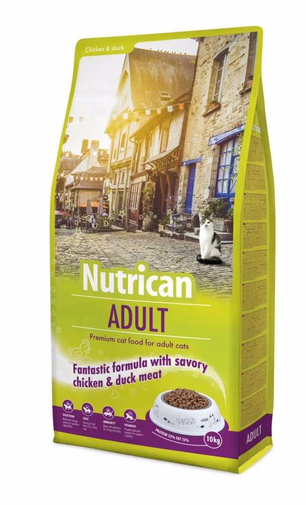 NUTRICAN cat ADULT 10kg-12750