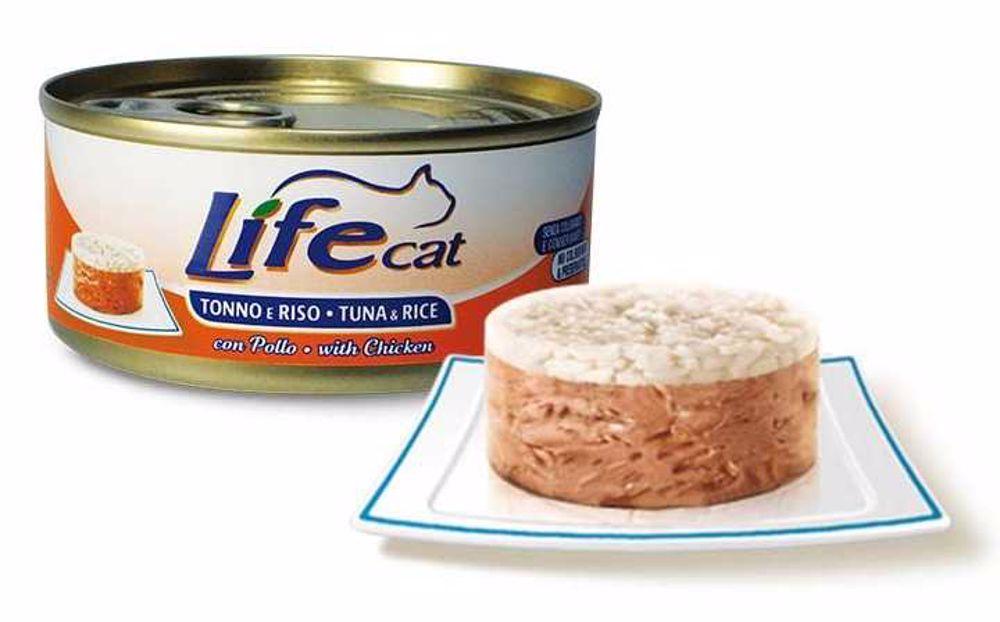 LifeCat Tuna with Rice & Chicken 170 g
