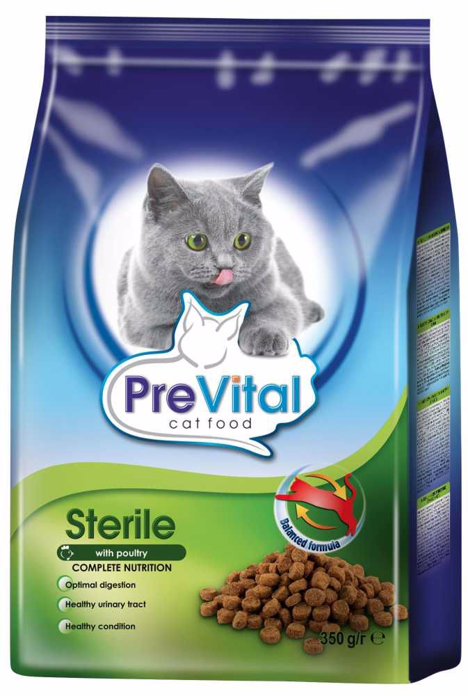 PreVital kočka sterilní, granule 0,35 kg