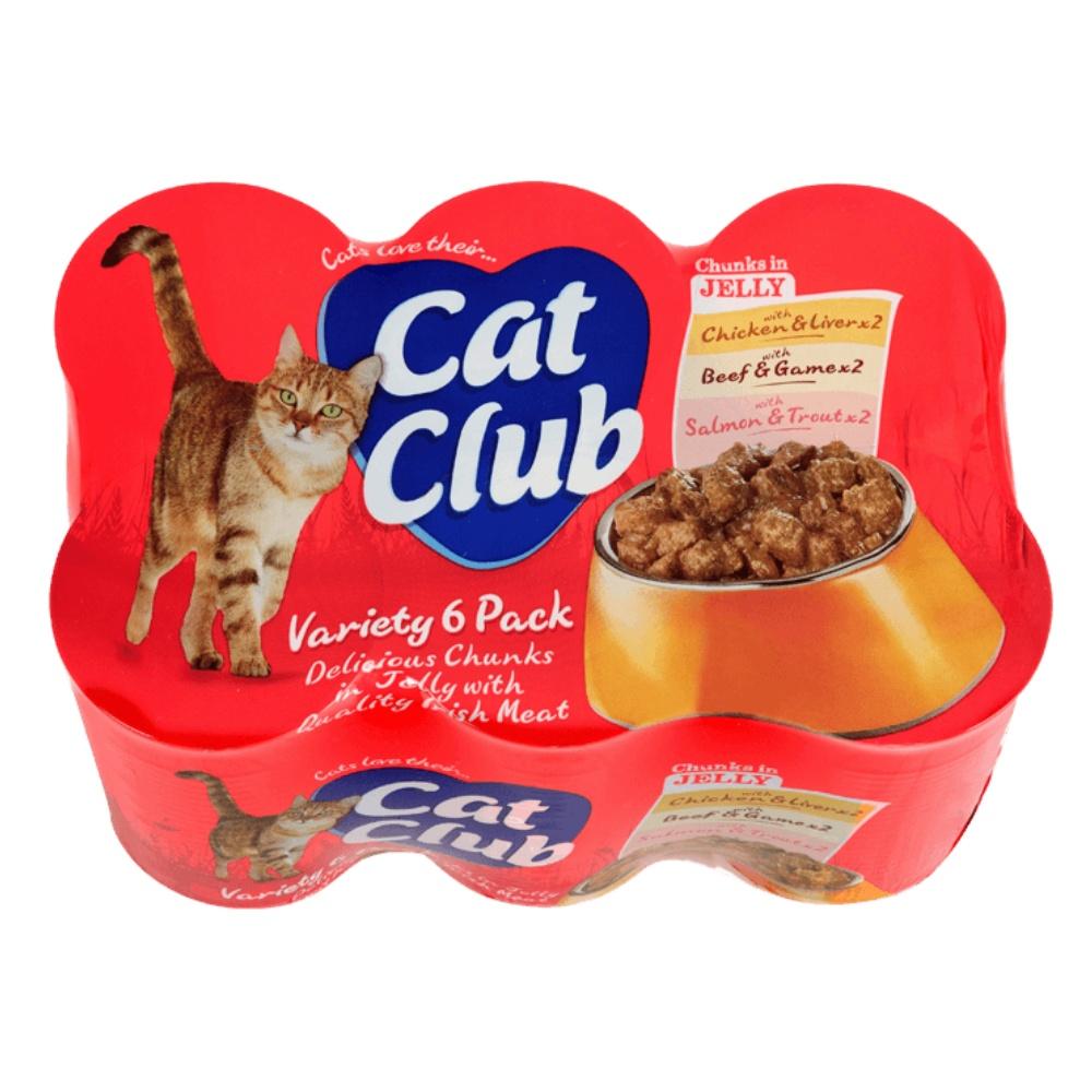 Cat Club Mix Chunks in Jelly 400g (6pack ) v ŽELÉ-12907