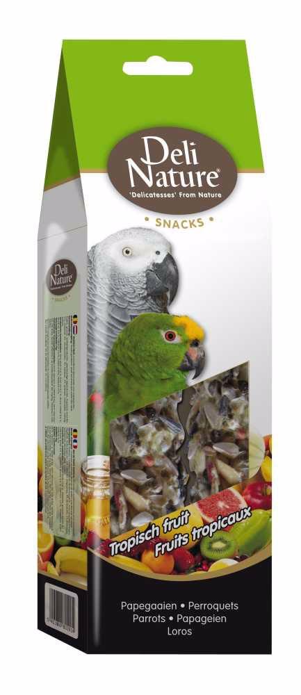 Deli Nature SNACK PARROTS-TROPICAL FRUIT MIX 130g-Velký Papoušek-Mix Tropické ovoce-12953