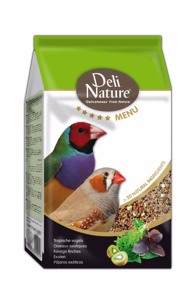Deli Nature 5 Menu FOREIGN FINCHES 800g-Drobní Exoti-12971