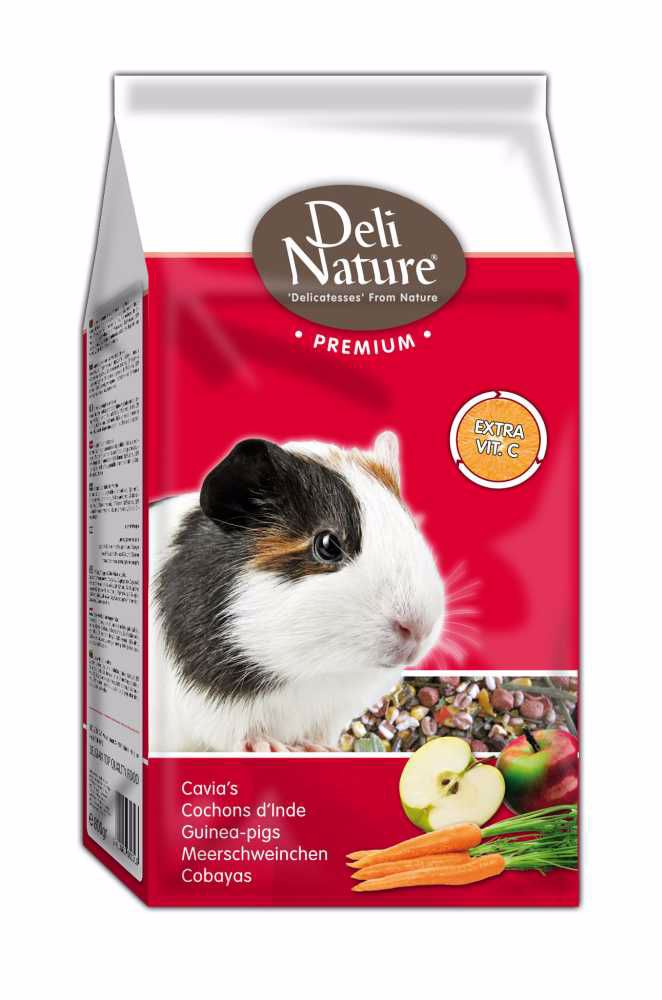 Deli Nature Premium GUINEA-PIGS  800g-Morče-12989