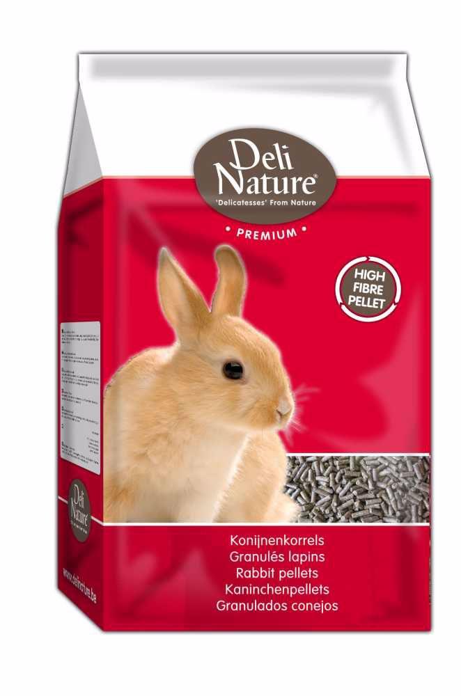 Deli Nature Premium RABBIT PELLETS 4kg-Králík-12992