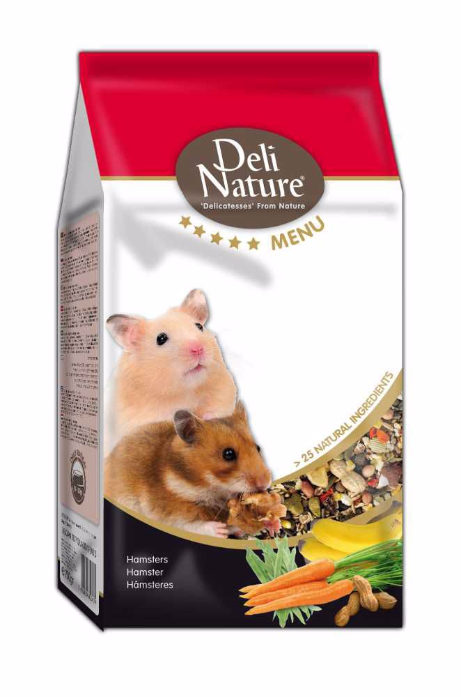 Deli Nature 5 Menu HAMSTERS 750g-Křeček-12999