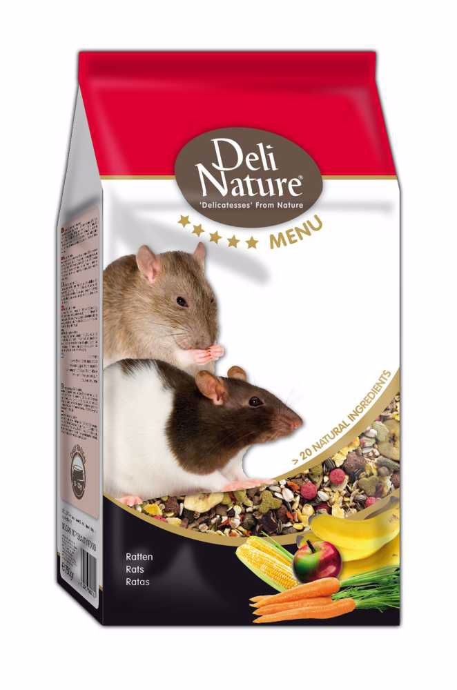 Deli Nature 5 Menu RATS  750g-Krysa-13002