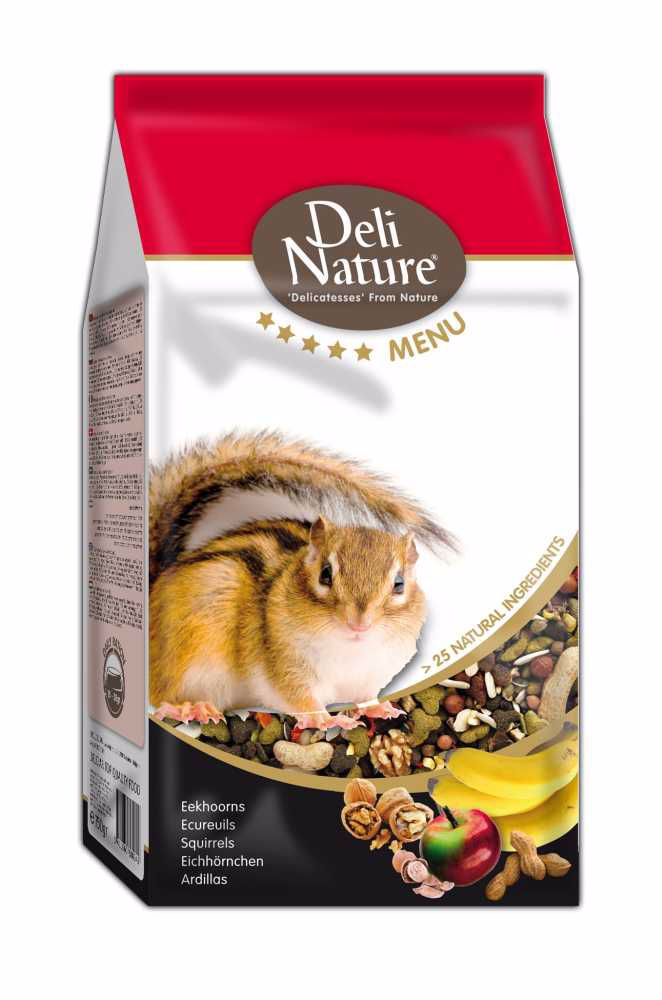 Deli Nature 5 Menu SQUIRRELS 750g-Veverka-13005
