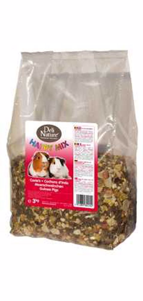 Deli Nature Happy Mix GUINEA-PIGS 3kg-Morče-13007