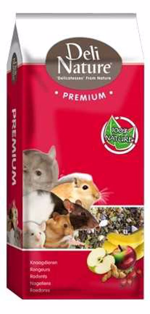 Deli Nature Premium SMALL RODENTS 15kg-Malý Hlodavec-13010