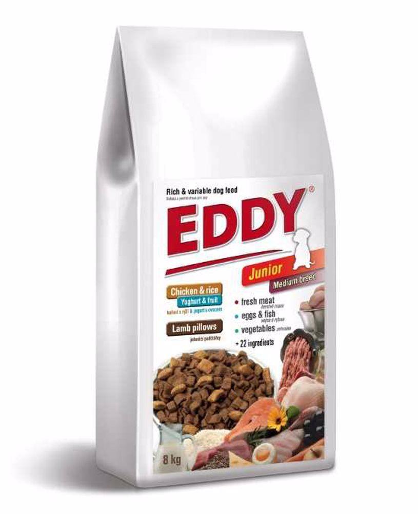 Eddy Dog Junior Medium breeds 8 kg