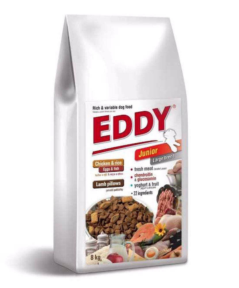 Eddy Dog Junior Large breeds 8 kg