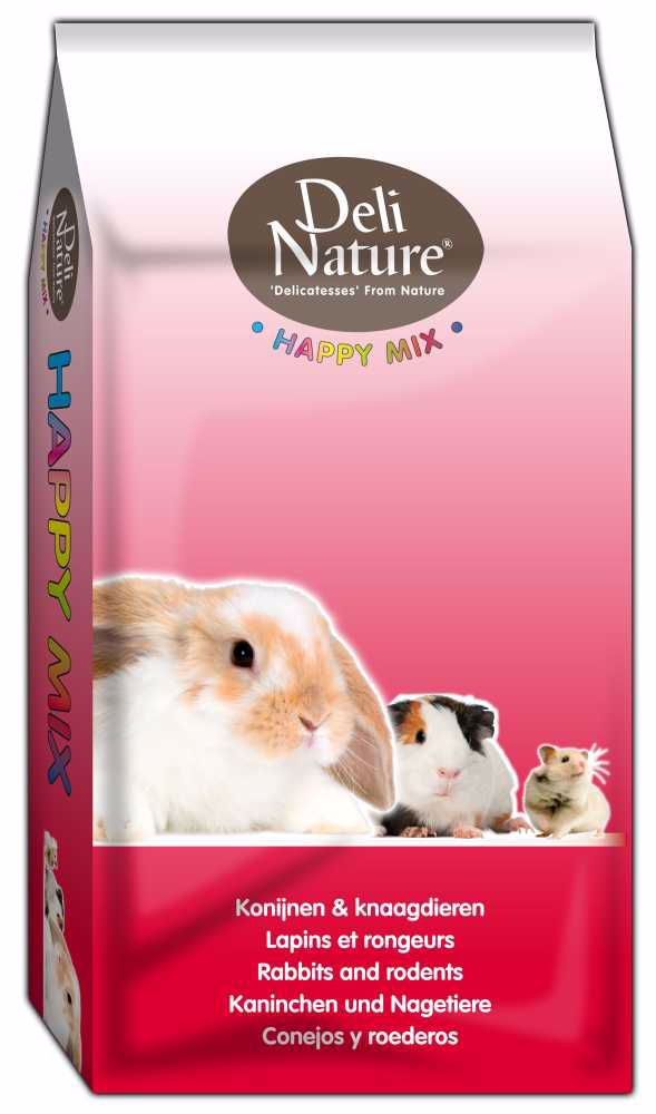 Deli Nature Happy Mix GUINEA-PIGS 15kg-Morče-13104