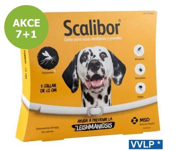 a.SCALIBOR antipar obojek DOG 65cm-AKCE 7+1-13133