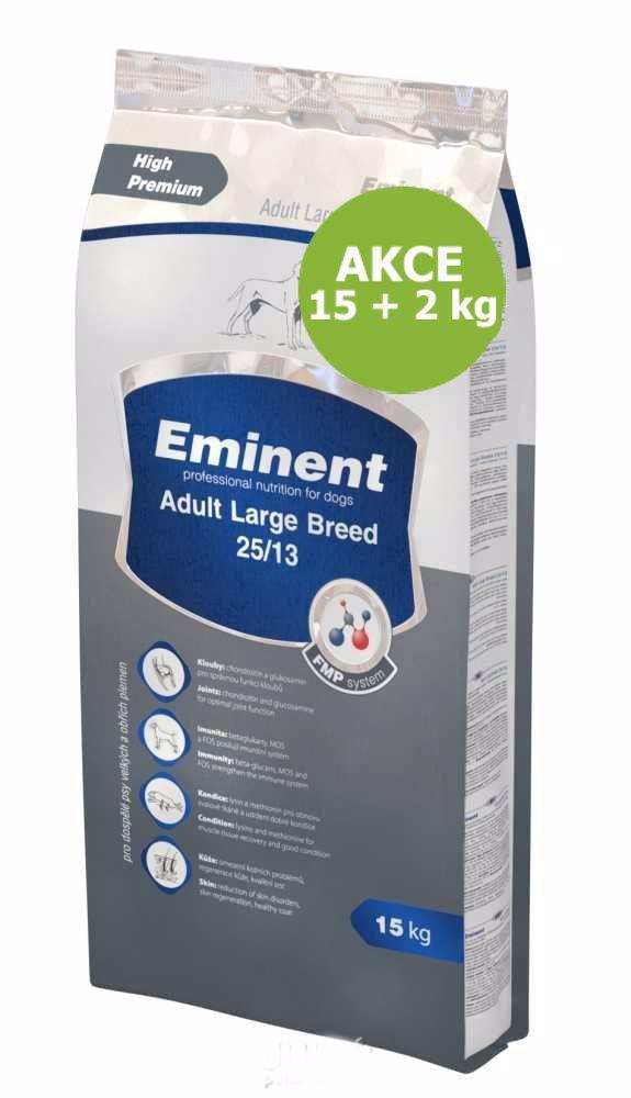 Eminent dog ADULT Large breed 15kg + 2kg ZDARMA