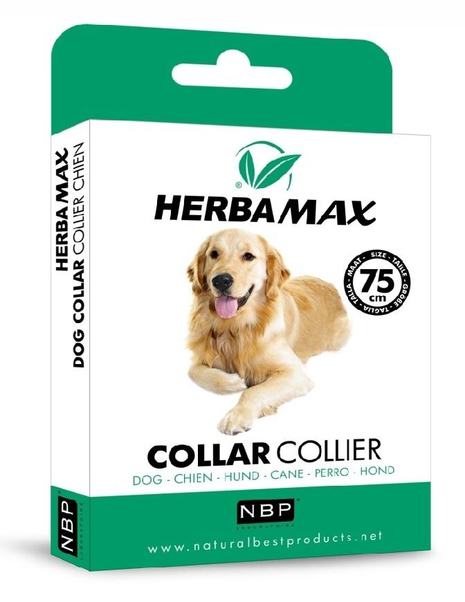 Herba Max Dog collar 75cm antiparazitní obojek-13412