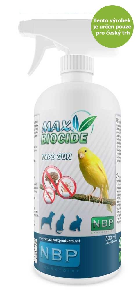 Max Biocid Bird Vapo Gun 500ml antipar.spray-!CZ!-13434