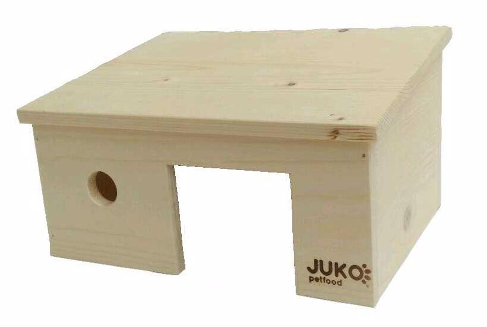 Domek šikmá střecha křeček