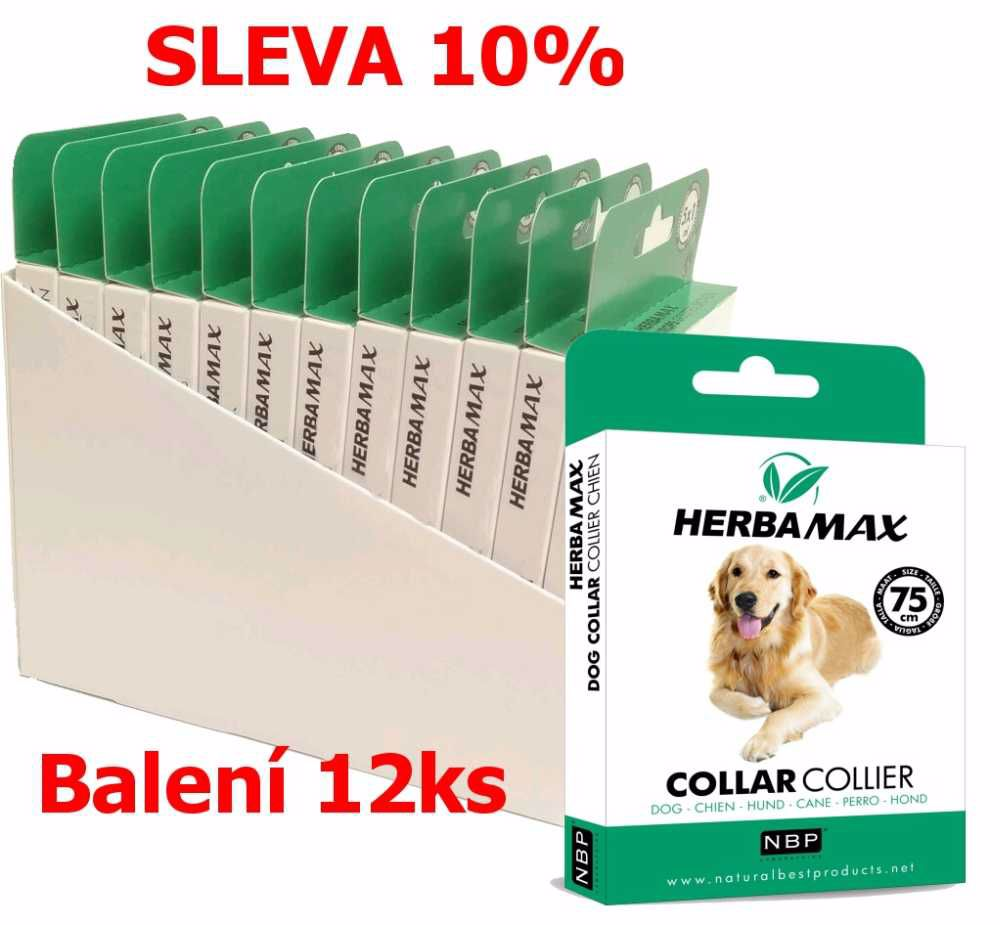 Herba Max Dog collar 75cm antipar.obojek-12KS-13508