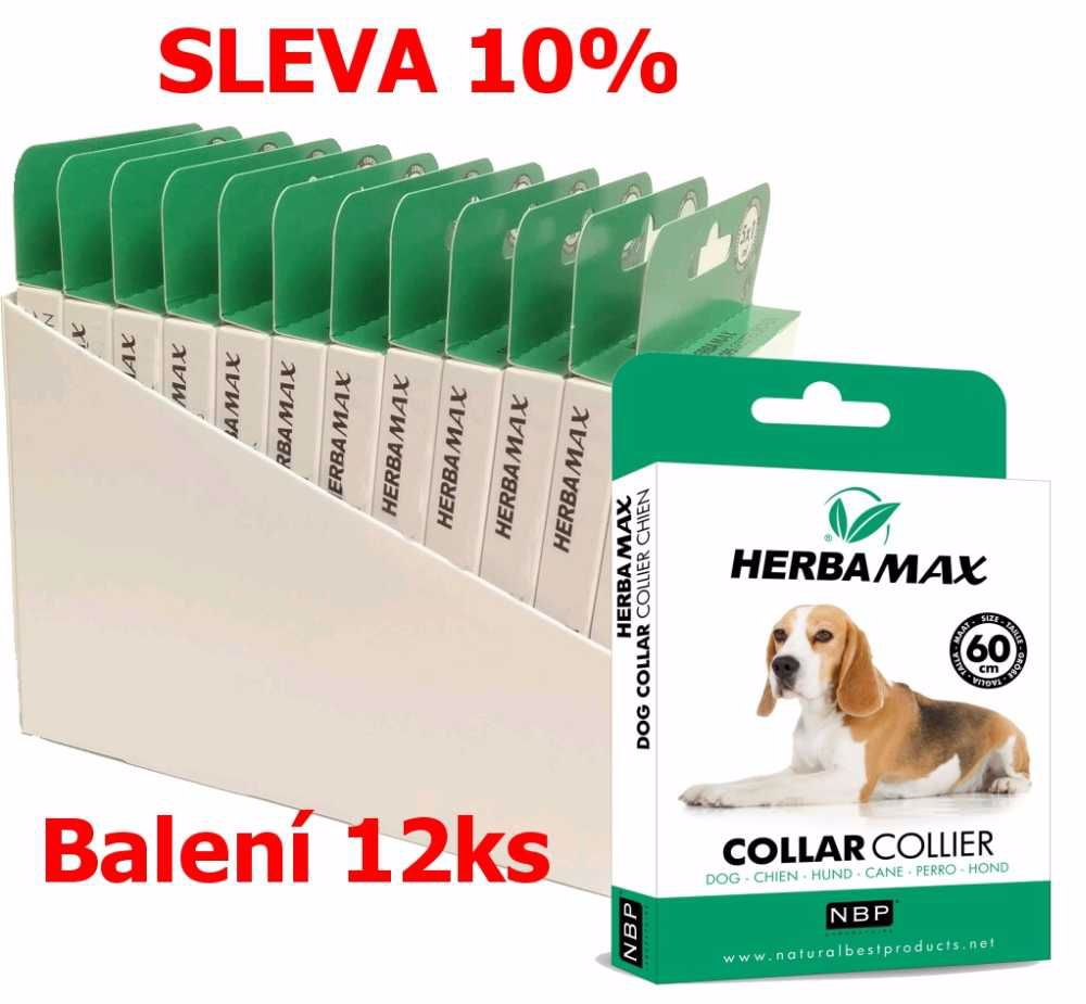 Herba Max Dog collar 60cm antipar. obojek-12KS-13509