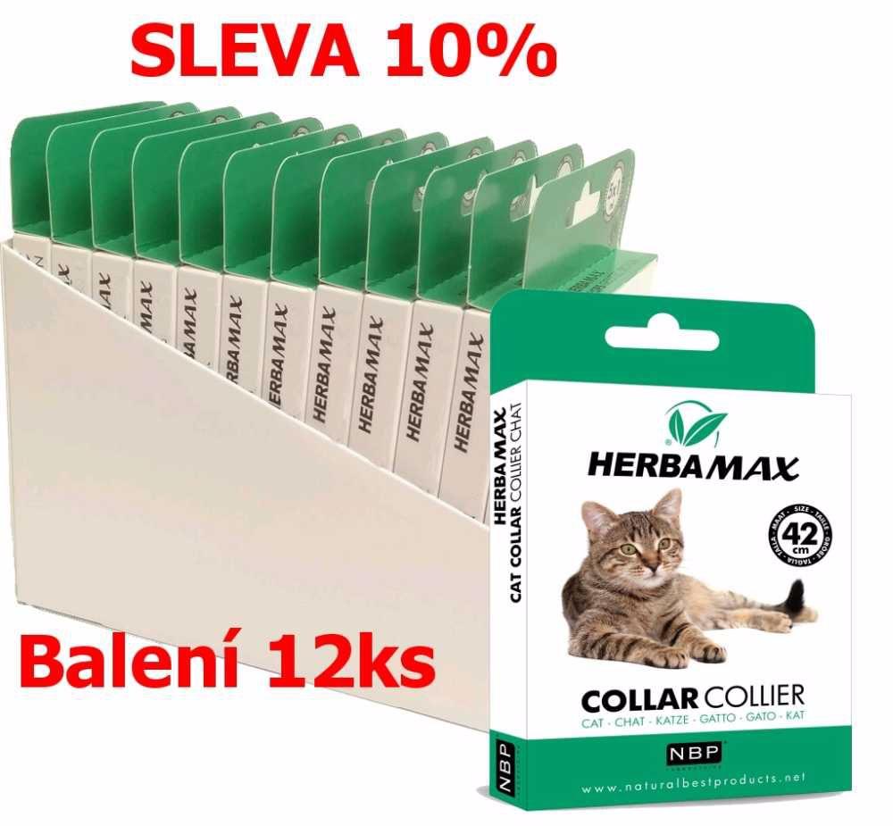 Herba Max Cat collar 42cm antipar. obojek-12KS-13511