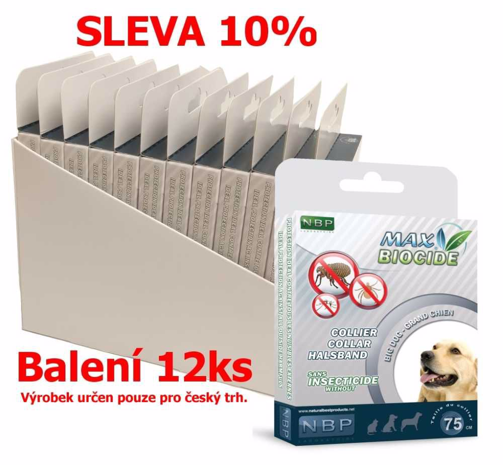 Max Biocide Collar Dog 75cm antip.obojek-12KS-!CZ!-13513