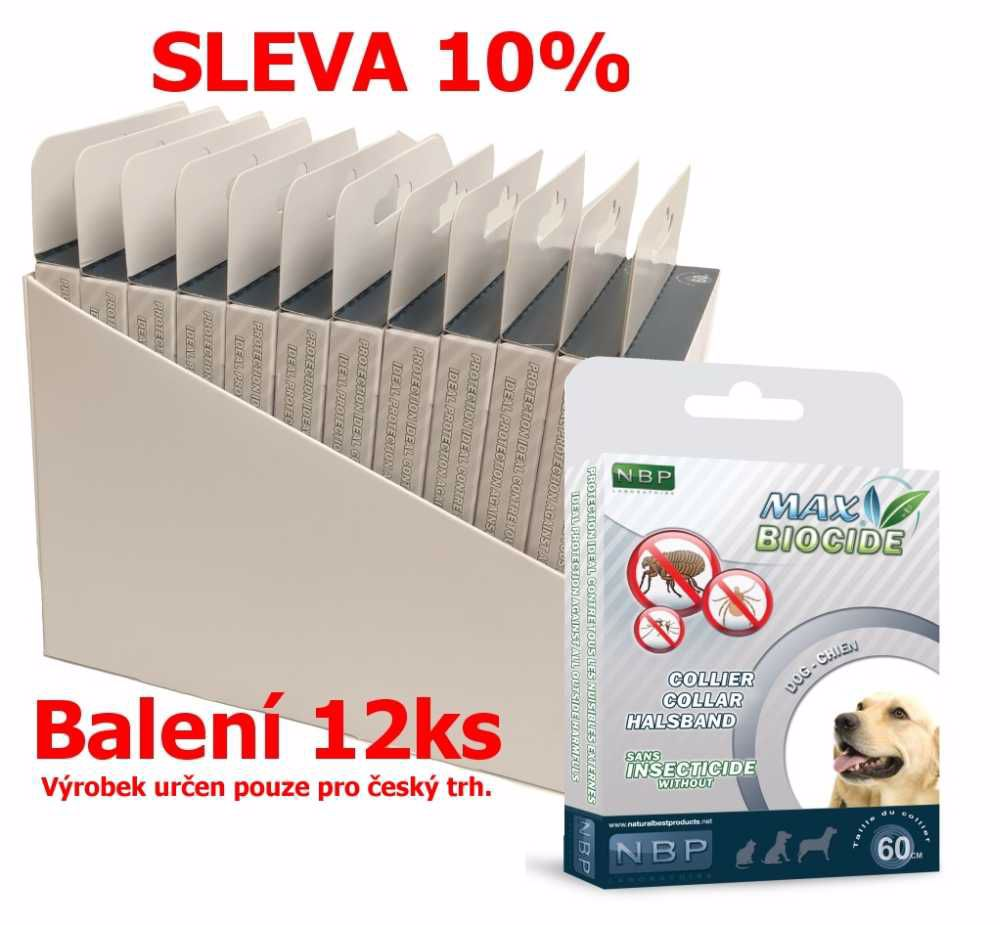 Max Biocide Collar Dog 60cm antip.obojek-12KS-!CZ!-13514