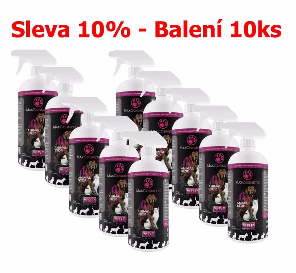 Max Cosmetic Animal Stop zákazový sprej 500 ml (10 ks) SLEVA 10 %