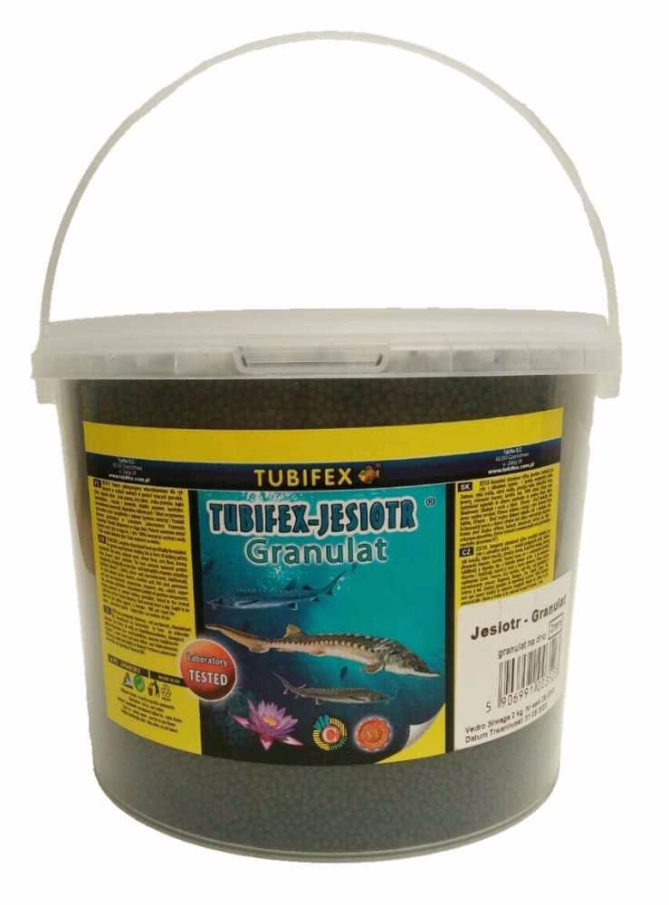 Tubifex krmivo pro jesetery 2 mm 2 kg