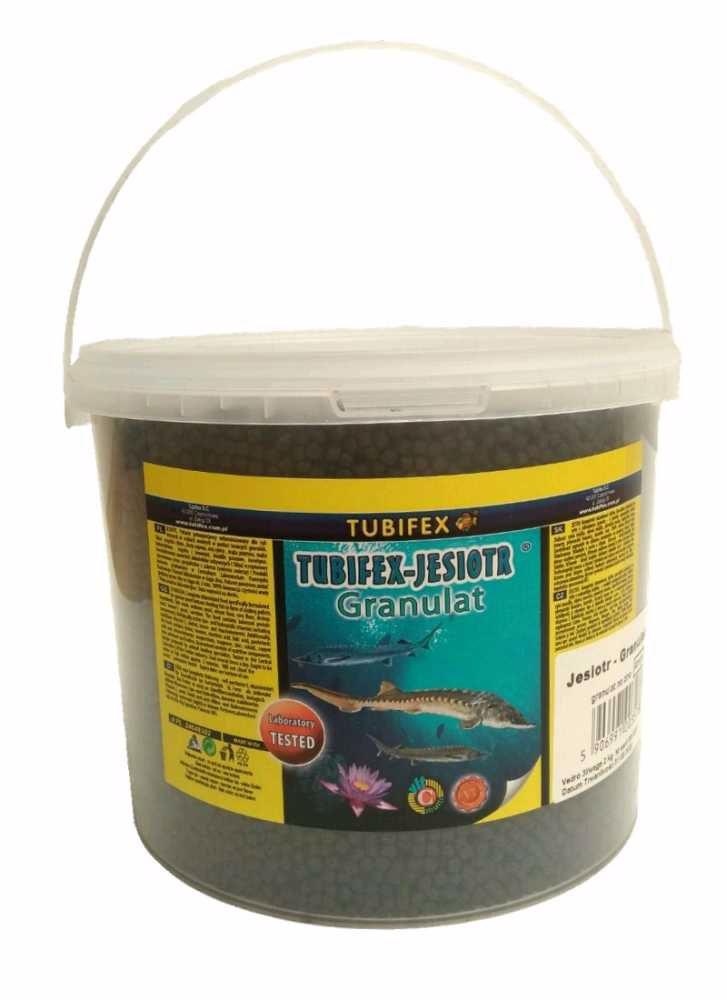 Tubifex krmivo pro jesetery 4 mm 2 kg