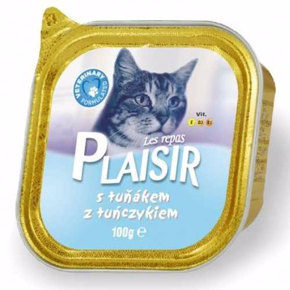 Plaisir Cat tuňák, vanička 100 g