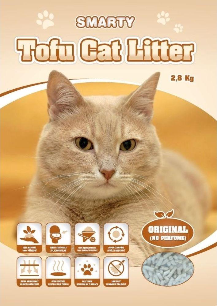 Smarty Tofu Cat Litter-Original-podestýlka bez vůně 6lt.-13686