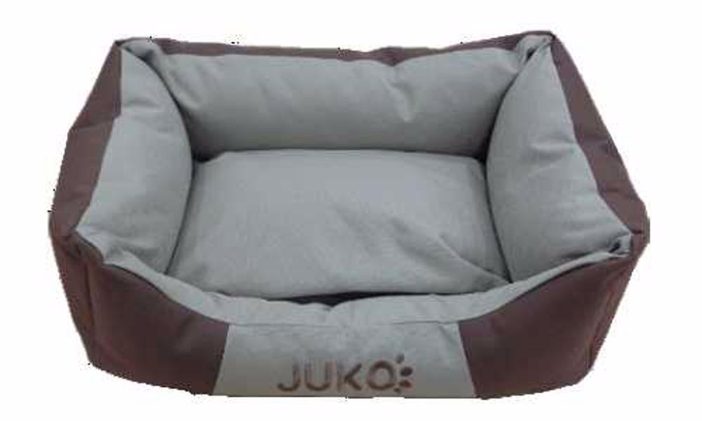 Pelíšek odolný JUKO hnědá M 65x51x18 cm
