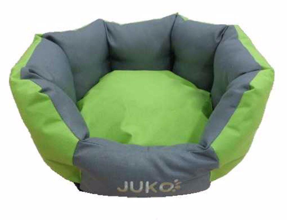 Pelíšek odolný JUKO koruna zelená L 68x59x25 cm