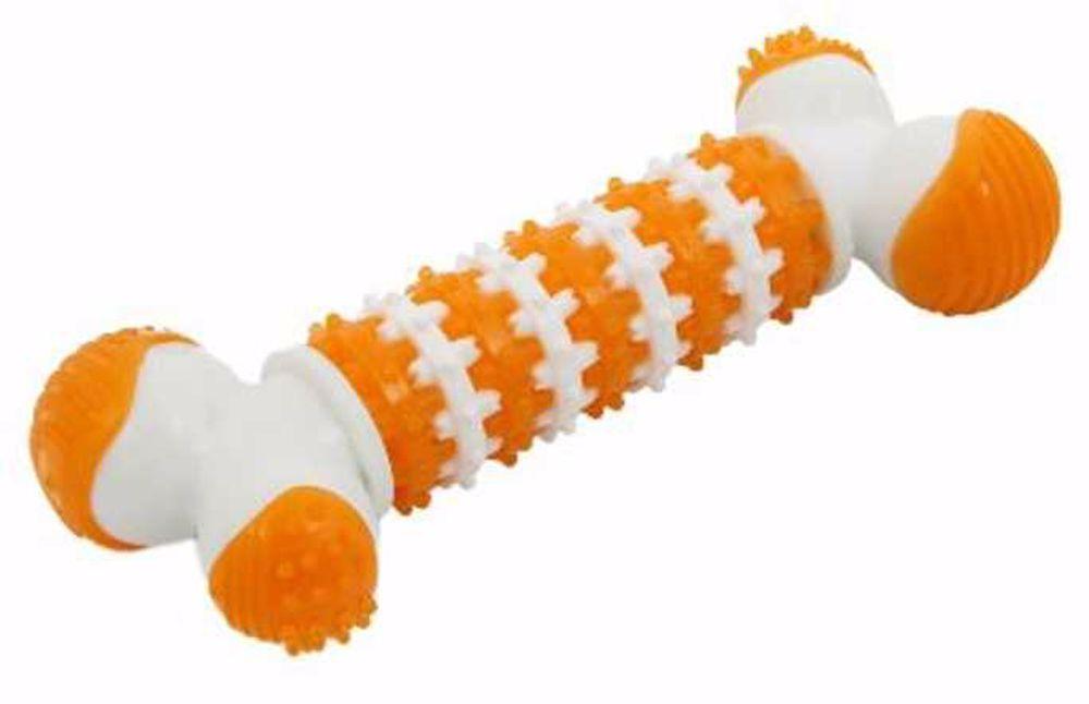 Dentální gumová hračka kost