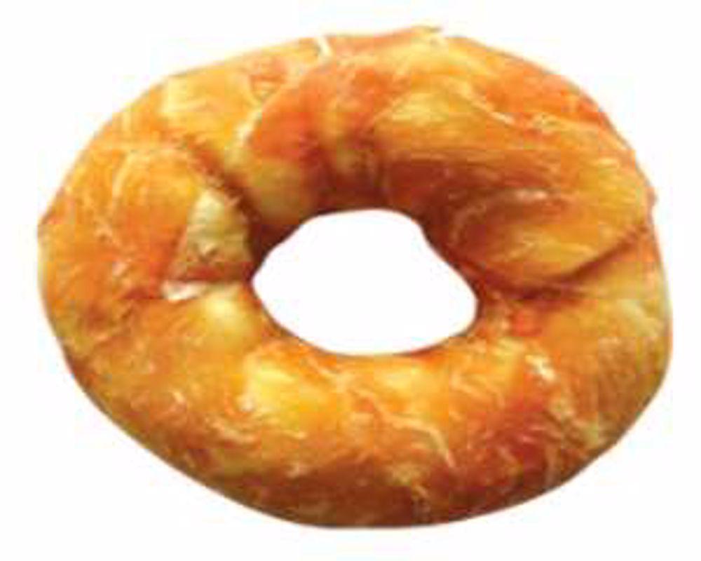 Buvolí kroužek+Kuře celoobalený 10cm (90-100g)-6ks-13911