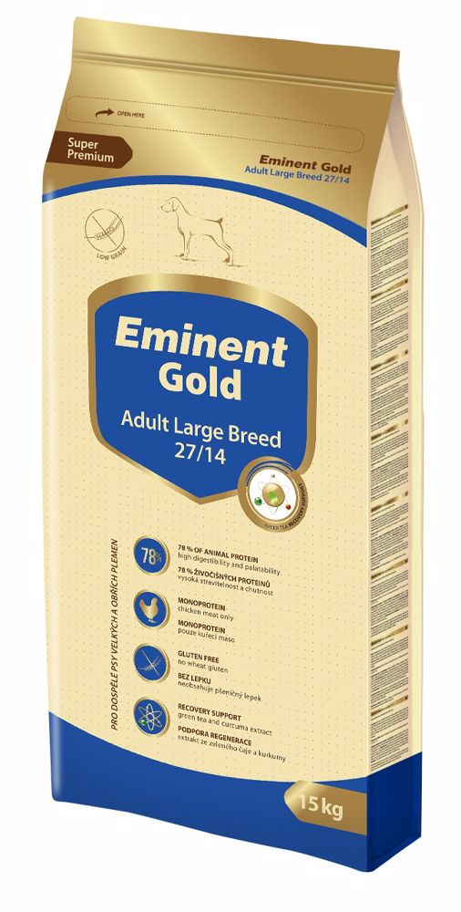 Eminent Gold Adult large breed