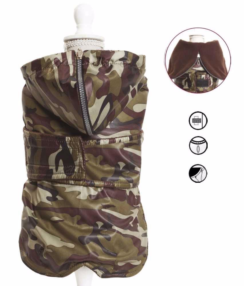 Obleček Military jezevčík 34cm – 4456C