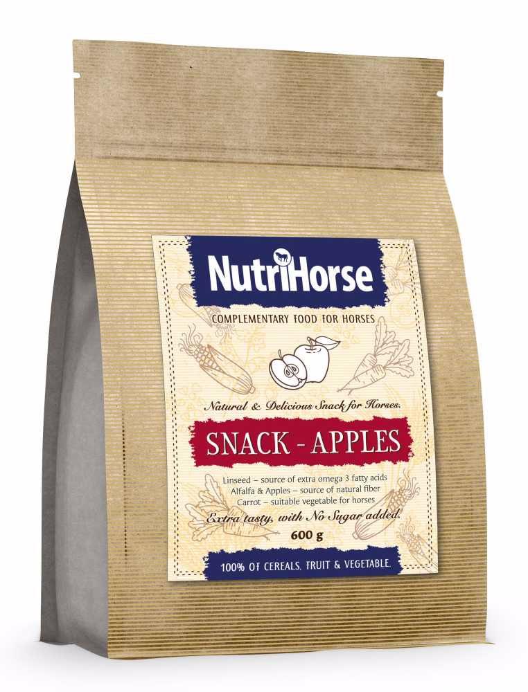 NutriHorse Snack - Apple 600g-pochoutka pro koně-14057