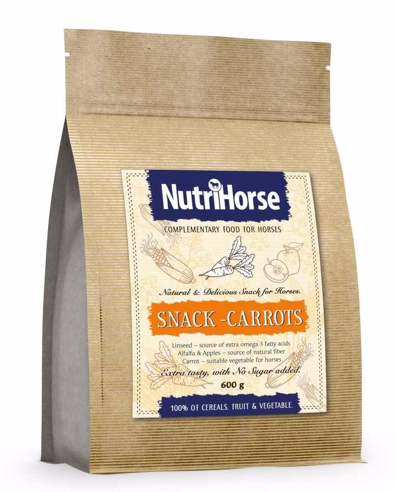 NutriHorse Snack - Carrot 600g-pochoutka pro koně-14058