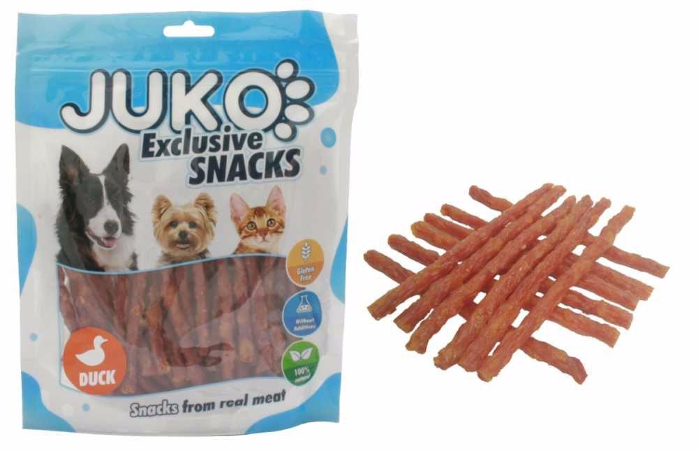 JUKO SNACKS Duck & Sweet Potato stick 250 g
