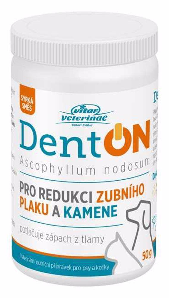 Vitar veterinae DentON (De-Plague) 50g-redukce zubního kamene-14155