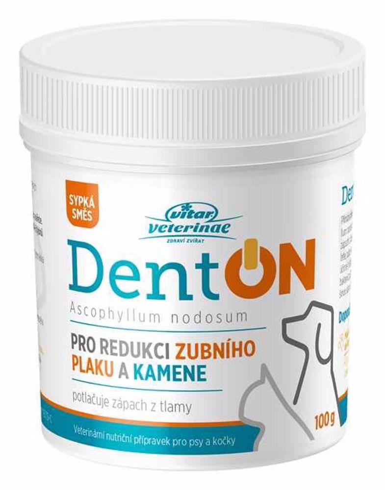 Vitar veterinae DentON (De-Plague) 100g-redukce zubního kamene-14156