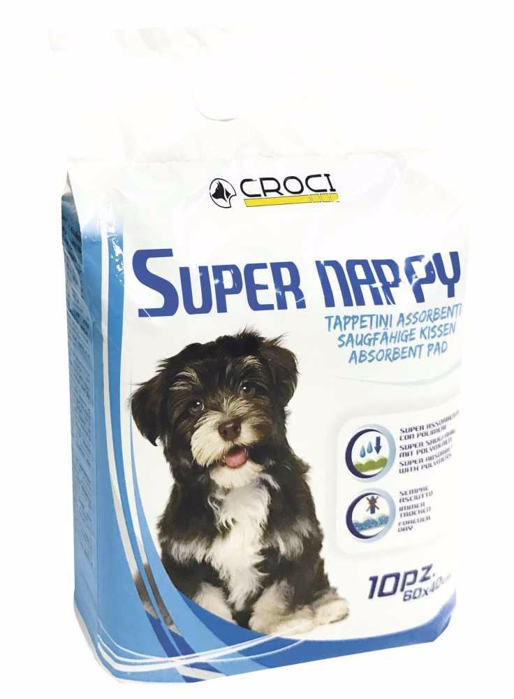 Návyková podložka Super Nappy 60 x 40 cm (50 ks)