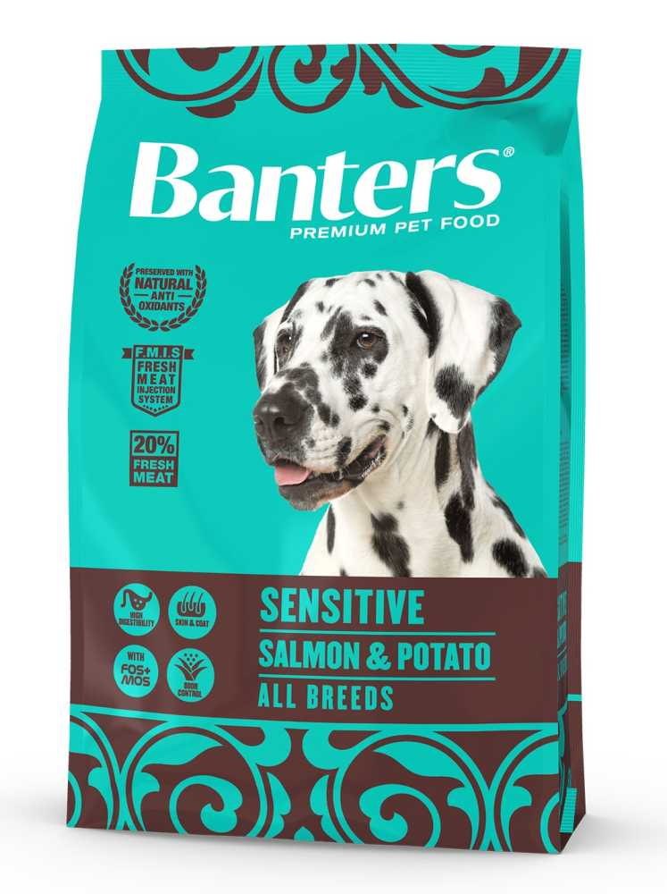 Banters Sensitive Salmon&Potato  3kg-14176