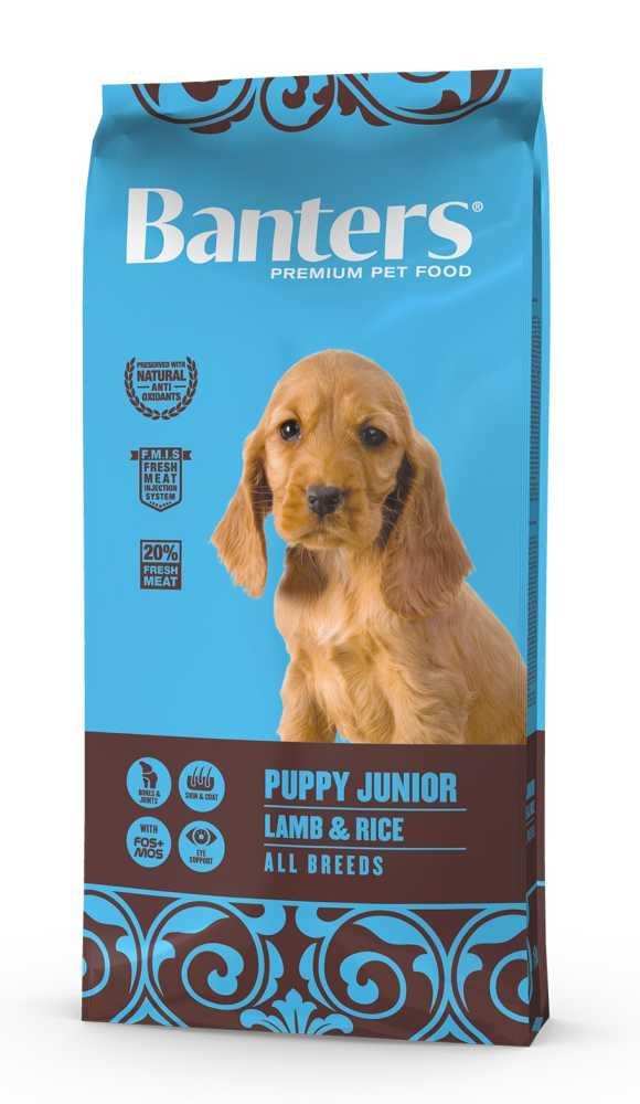 Banters Puppy Junior Lamb & Rice 15 kg