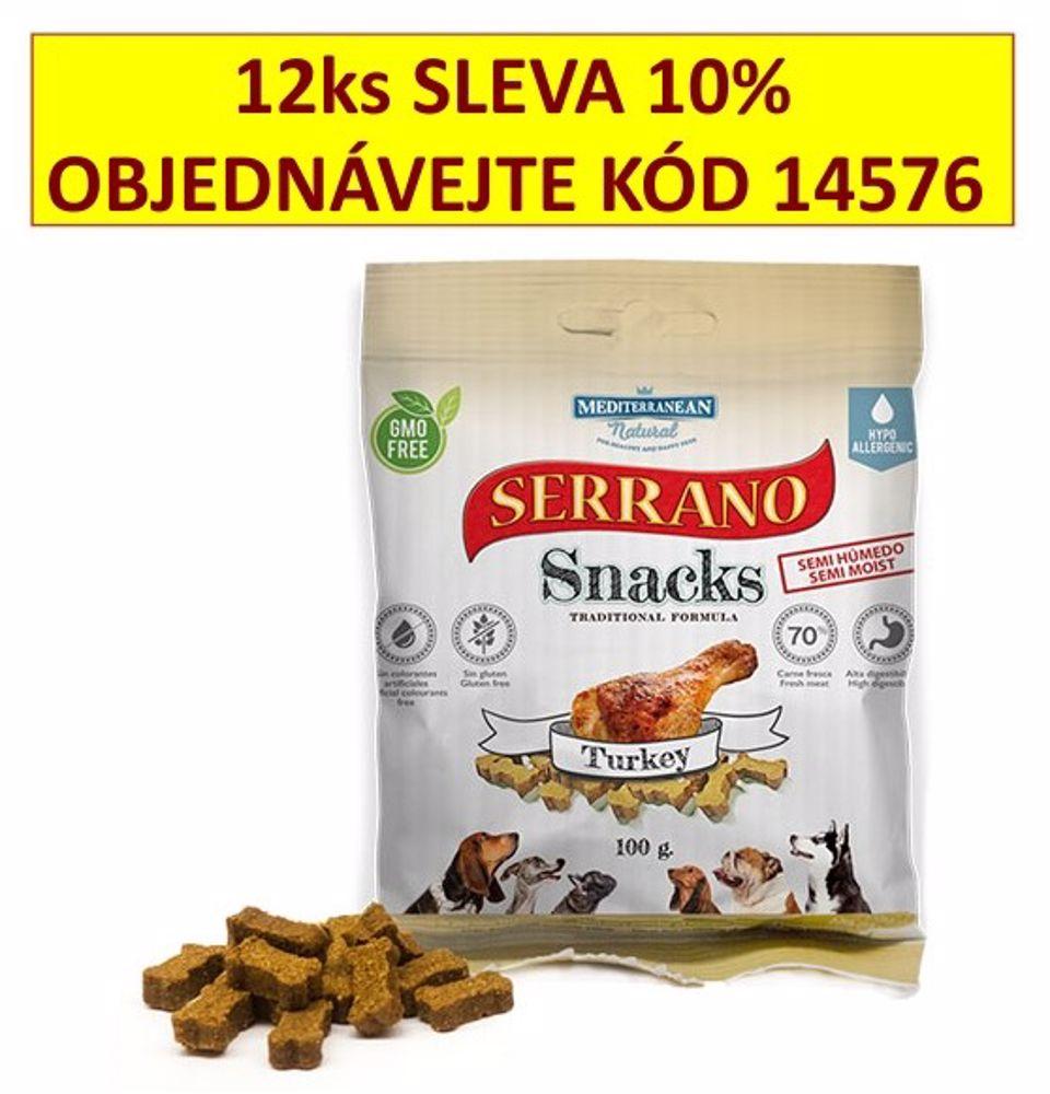 Serrano Snack for Dog Turkey 100 g