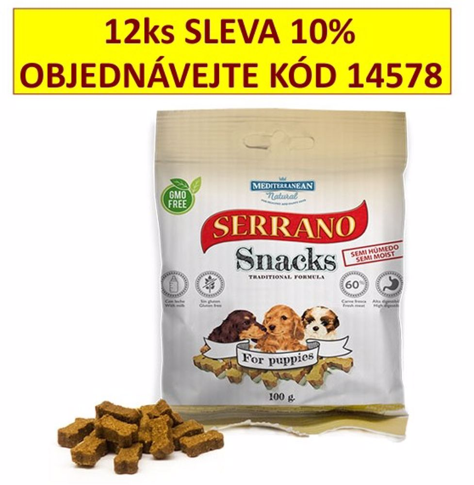 Serrano Snack for Puppies 100 g