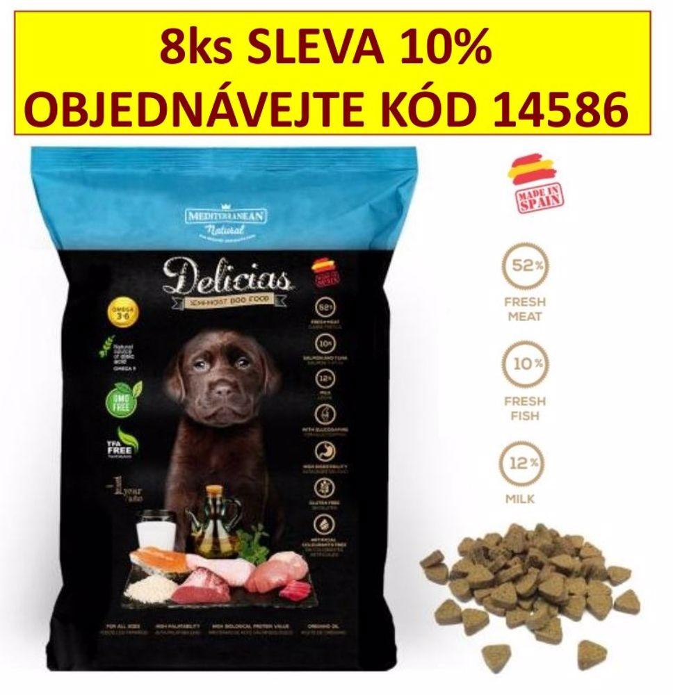 Delicias Puppy Adult Soft poloměkké krmivo 800 g